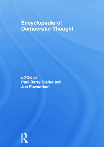 Encyclopedia of Democratic Thought book cover