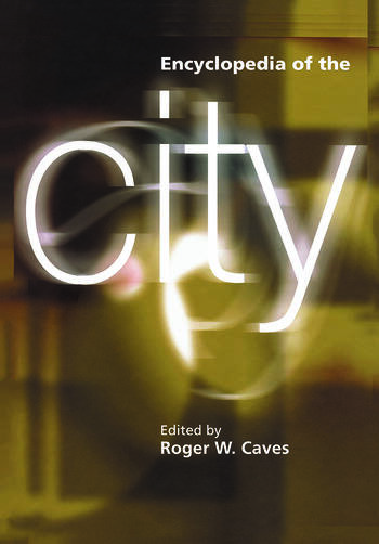 Encyclopedia of the City book cover