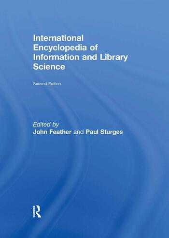 International Encyclopedia of Information and Library Science book cover