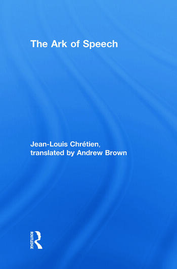 The Ark of Speech book cover
