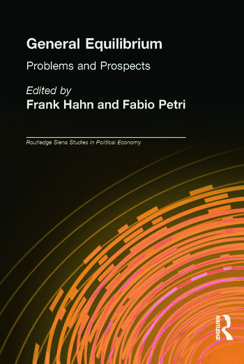 General Equilibrium Problems and Prospects book cover