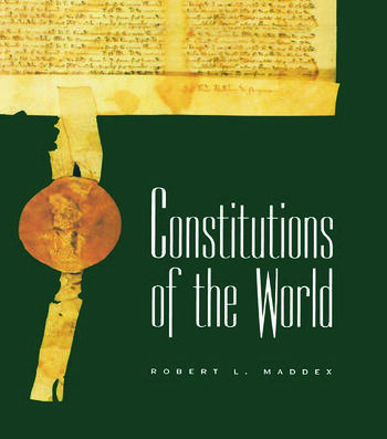 Constitutions of the World book cover