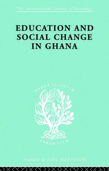 Educ & Soc Change Ghana Ils 60 book cover