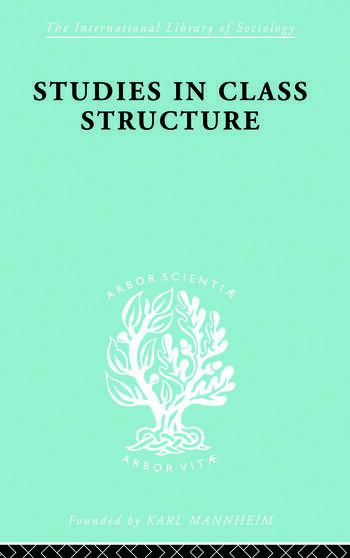 Studies Class Struct Ils 121 book cover