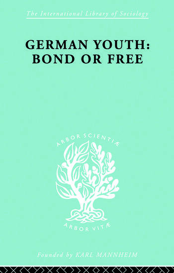 German Youth:Bond Free Ils 145 book cover