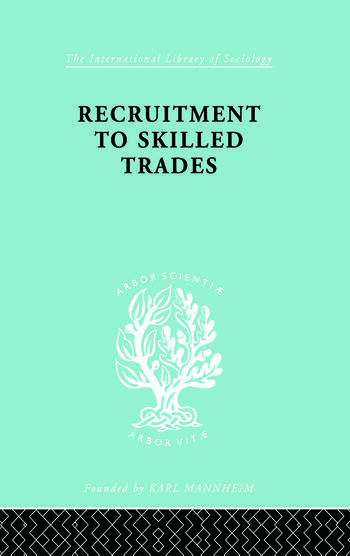 Recruitment to Skilled Trades book cover