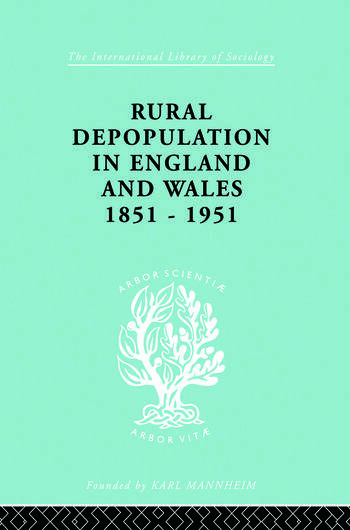 Rural Depopulation in England and Wales, 1851-1951 book cover