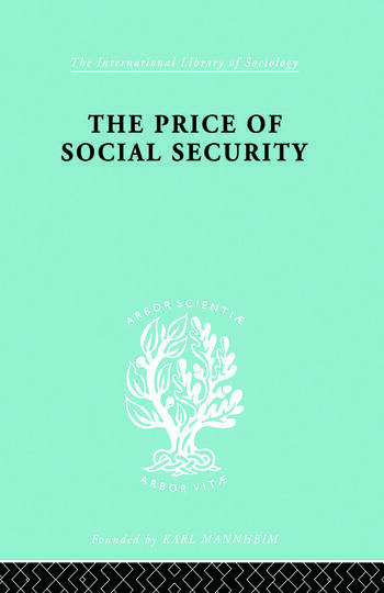 Price Socl Security Ils 187 book cover