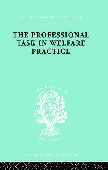 Profsnl Task Welf Prac Ils 188 book cover