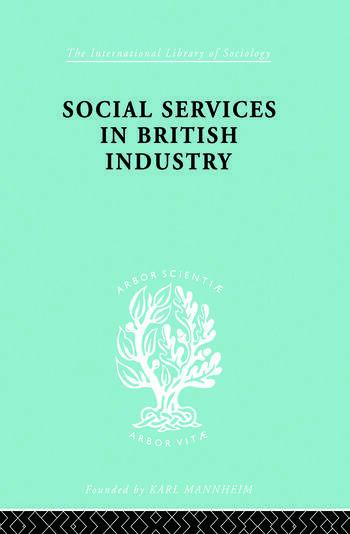 Soc Servcs Brit Indus Ils 192 book cover
