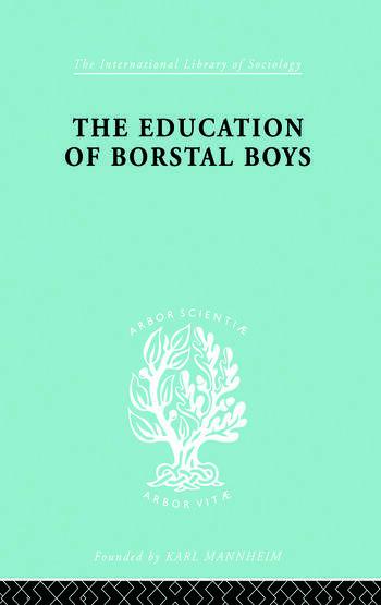 Educ Borstal Boys Ils 204 book cover
