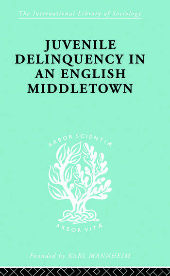 Juvenile Delinquency in an English Middle Town book cover