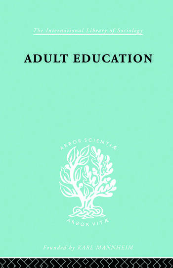 Adult Education A Comparative Study book cover