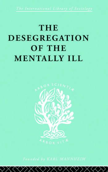 De-Segregatn Mentl Ill Ils 260 book cover