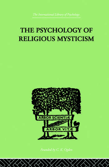 The Psychology of Religious Mysticism book cover