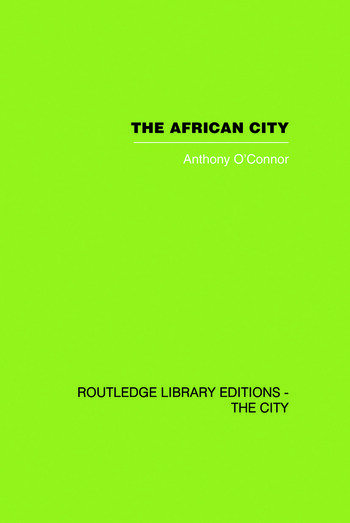 The African City book cover
