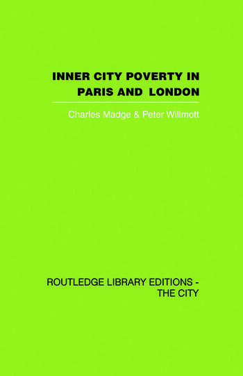 Inner City Poverty in Paris and London book cover