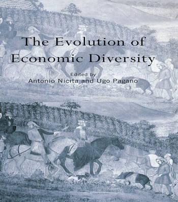 The Evolution of Economic Diversity book cover