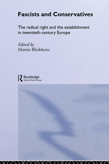 Fascists & Conservatives Europ book cover