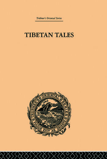 Tibetan Tales Derived from Indian Sources book cover