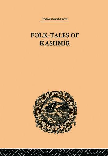 Folk-Tales of Kashmir book cover