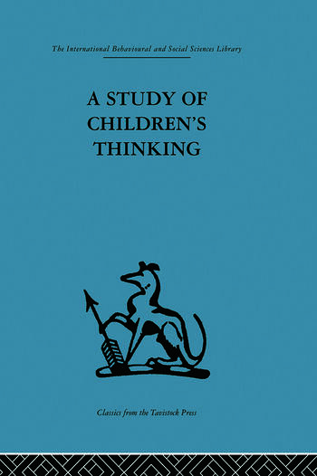 A Study of Children's Thinking book cover