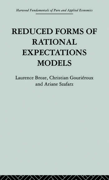 Reduced Forms of Rational Expectations Models book cover
