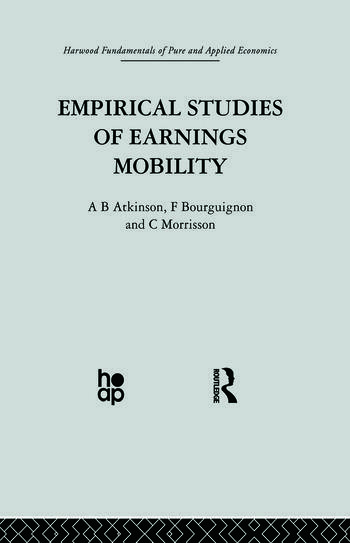 Empirical Studies of Earnings Mobility book cover