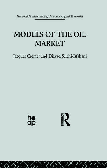 Models of the Oil Market book cover