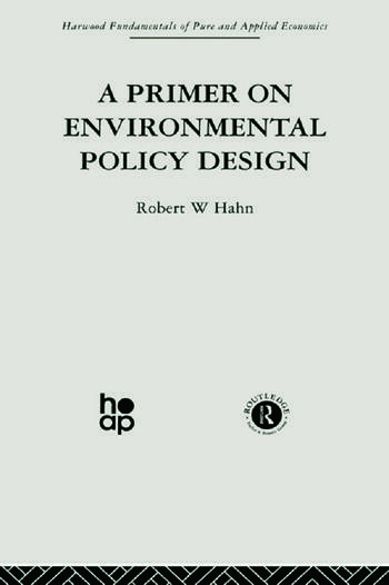 A Primer on Environmental Policy Design book cover