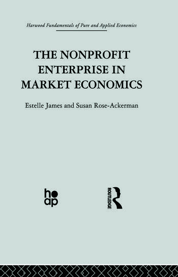 The Non-profit Enterprise in Market Economics book cover