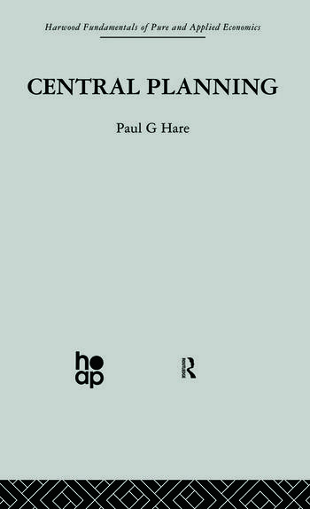 Central Planning book cover