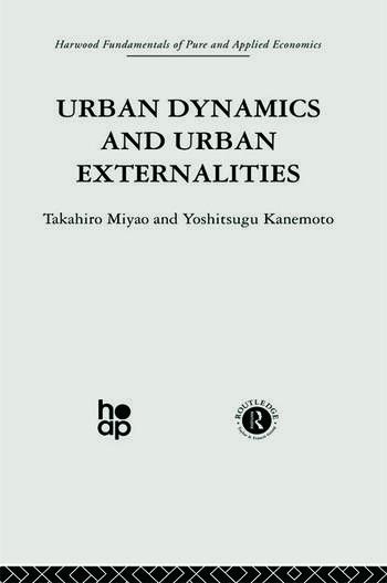 Urban Dynamics and Urban Externalities book cover