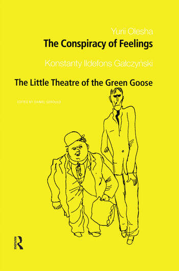 The Conspiracy of Feelings and The Little Theatre of the Green Goose book cover