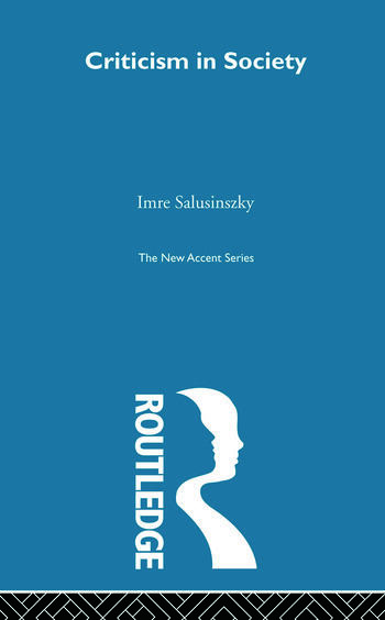 Criticism & Society book cover