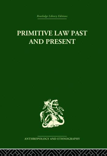 Primitive Law, Past and Present book cover