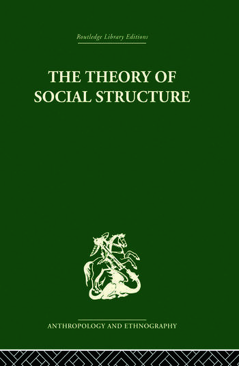 The Theory of Social Structure book cover