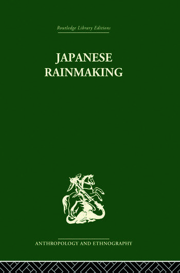 Japanese Rainmaking and other Folk Practices book cover