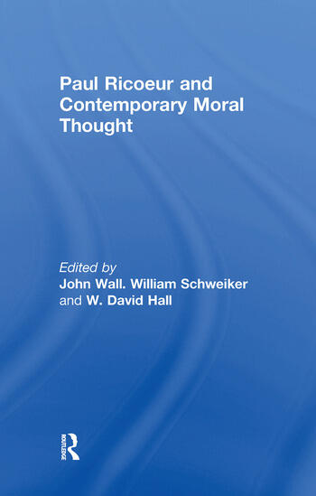 Paul Ricoeur and Contemporary Moral Thought book cover