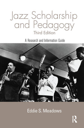 Jazz Research and Pedagogy book cover