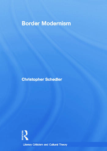 Border Modernism book cover