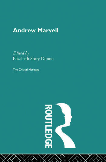 Andrew Marvell The Critical Heritage book cover