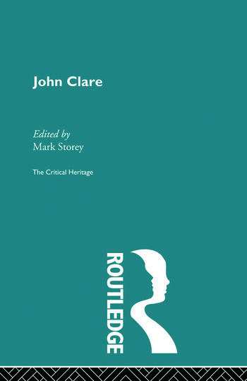 John Clare The Critical Heritage book cover