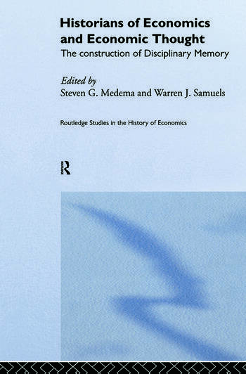 Historians of Economics and Economic Thought book cover