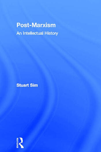 Post-Marxism An Intellectual History book cover