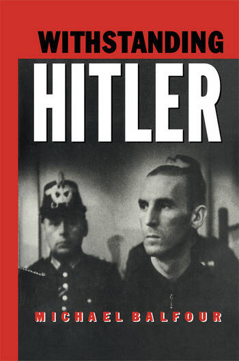 Withstanding Hitler book cover