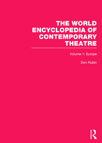 World Encyclopedia of Contemporary Theatre Volume 1: Europe book cover