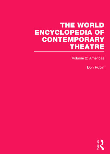 World Encyclopedia of Contemporary Theatre Volume 2: The Americas book cover