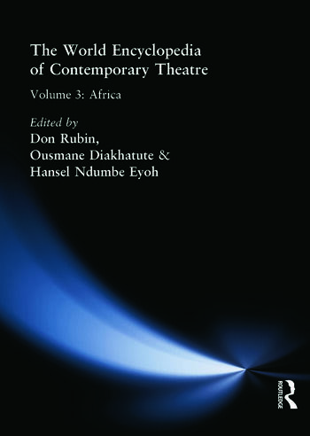 World Encyclopedia of Contemporary Theatre Volume 3: Africa book cover
