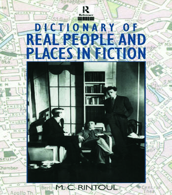 Dictionary of Real People and Places in Fiction book cover